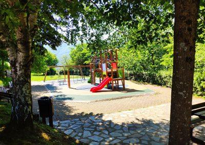 Parque infantil en Arantza